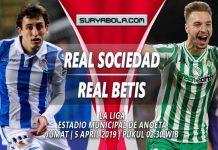 Prediksi Real Sociedad vs Real Betis 05 April 2019