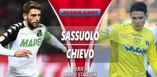 Prediksi Sassuolo vs Chievo 05 April 2019