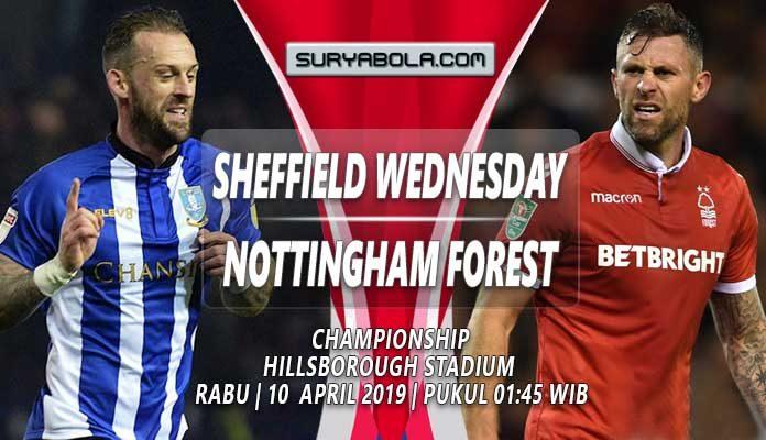 Prediksi Sheffield Wednesday Vs Nottingham Forest