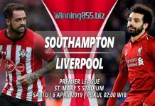 Prediksi Southampton vs Liverpool 06 April 2019