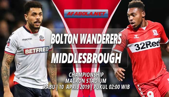 prediksi bolton vs middlesbrough 10 April 2019
