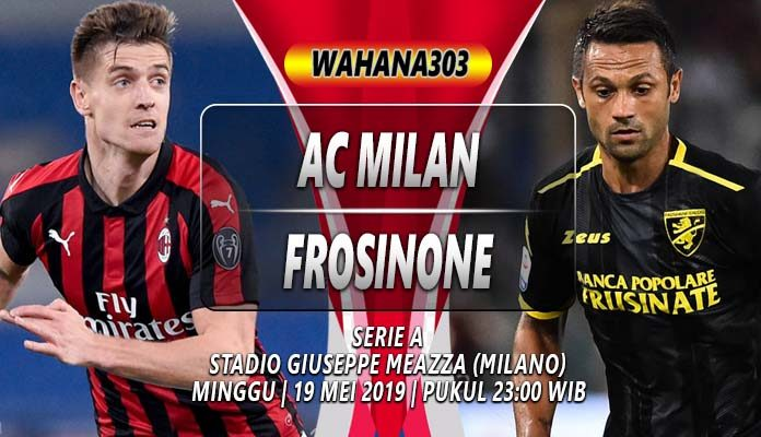 Prediksi AC Milan vs Frosinone
