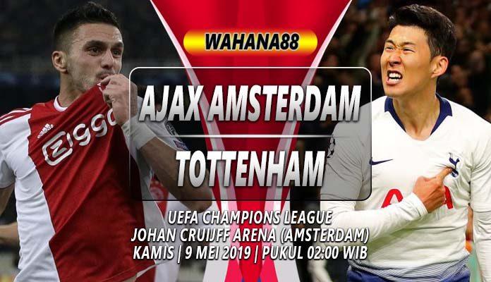Prediksi Ajax vs Tottenham Hotspur
