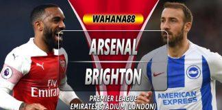 Prediksi Arsenal vs Brighton