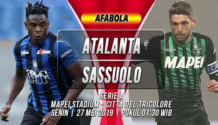 Prediksi Atalanta vs Sassuolo
