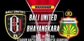 Bali United vs Bhayangkara