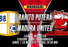 Prediksi Barito Putera vs Madura United