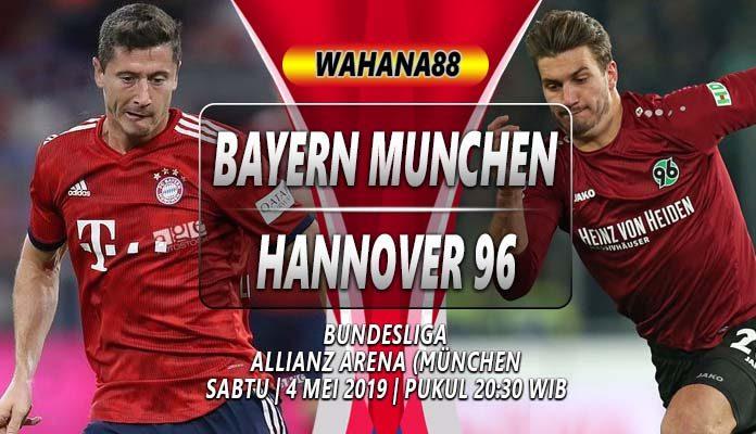 Prediksi Bayern Munchen Vs Hannover