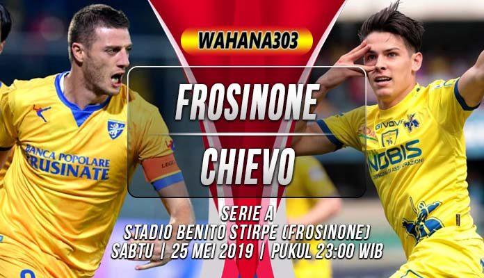 Prediksi Frosinone vs Chievo