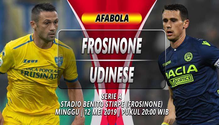 Prediksi Frosinone vs Udinese
