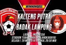 Prediksi Kalteng Putra vs Badak Lampung