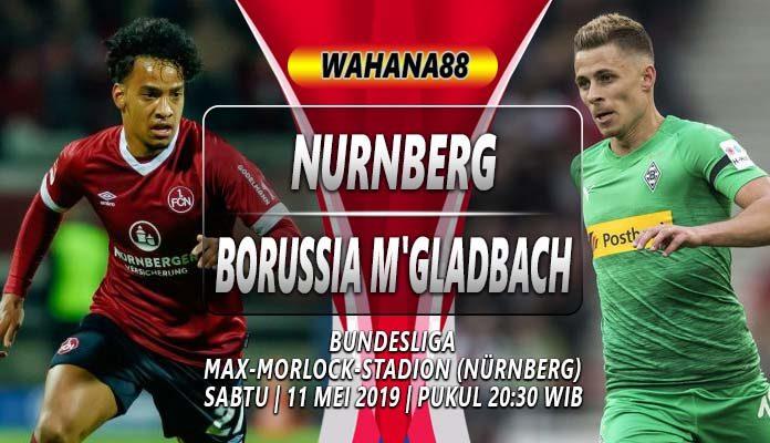 Prediksi Nurnberg vs Monchengladbach