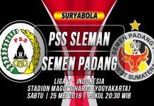 Prediksi PSS Sleman vs Semen Padang