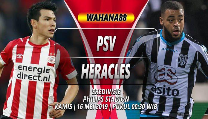 Prediksi PSV vs Heracles