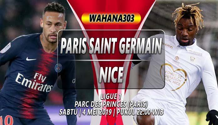 Prediksi Paris Saint Germain vs Nice