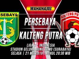 Persebaya Surabaya vs Kalteng Putra