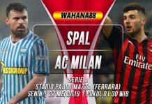 Prediksi SPAL vs AC Milan