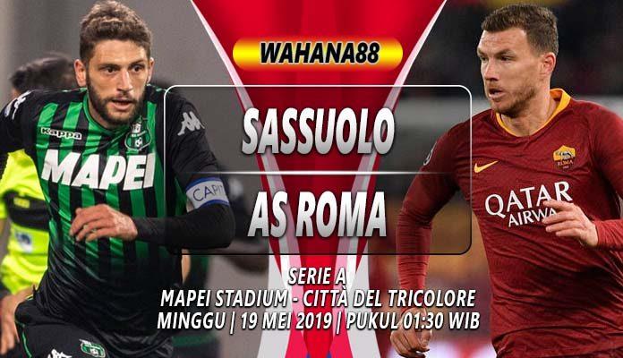 Prediksi Sassuolo vs Roma