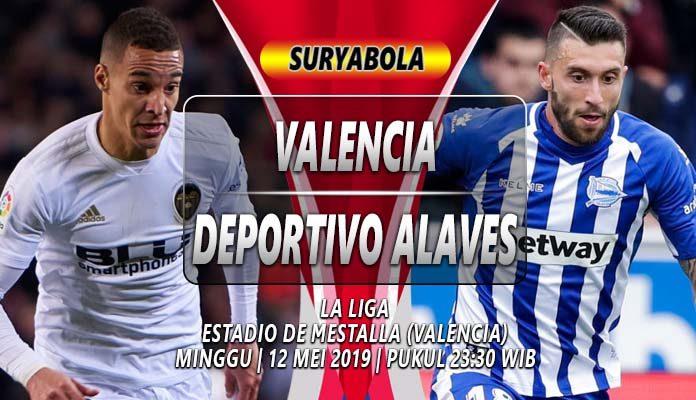 Prediksi Valencia vs Deportivo Alaves