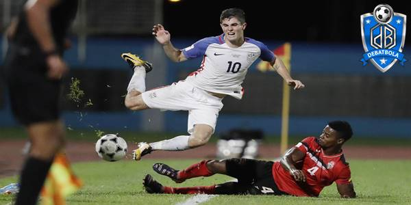Amerika Serikat vs Trinidad Tobago