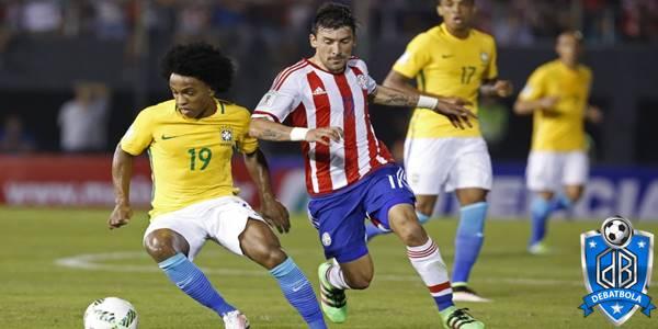 Brazil vs Paraguay
