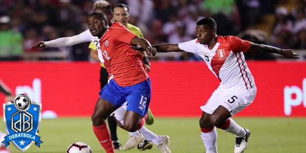 Peru vs Kosta Rika