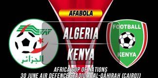 Prediksi Algeria vs Kenya