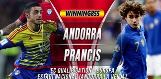 Prediksi Andorra vs Prancis