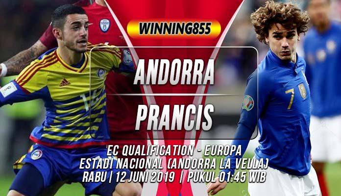 Prediksi Andorra vs Prancis
