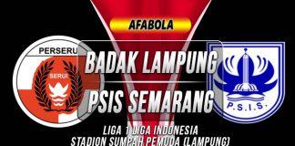 Prediksi Badak Lampung vs PSIS Semarang