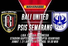 Prediksi Bali United vs PSIS Semarang