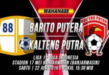 Prediksi Barito Putra vs Kalteng Putra