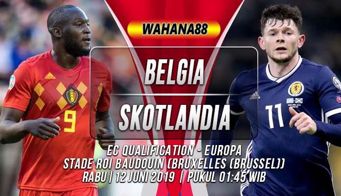 Prediksi Belgia vs Skotlandia