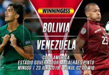 Prediksi Bolivia vs Venezuela