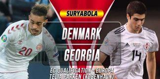 Prediksi Denmark vs Georgia