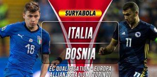 Prediksi Italia vs Bosnia Herzegovina