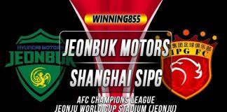 Prediksi Jeonbuk Motors vs Shanghai SIPG