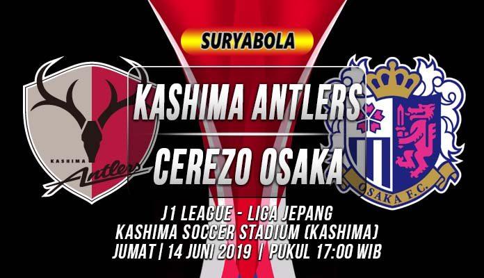 Prediksi Kashima Antlers vs Cerezo Osaka