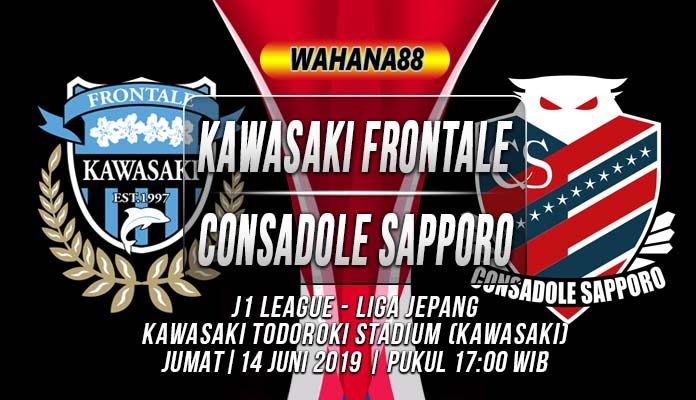 Prediksi Kawasaki Frontale vs Consadole Sapporo