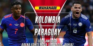 Prediksi Kolombia vs Paraguay