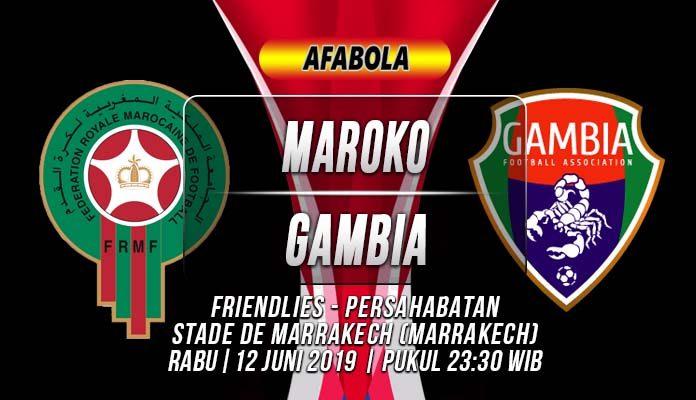 Prediksi Maroko vs Gambia