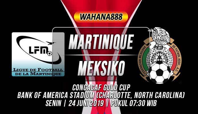 Prediksi Martinique vs Meksiko