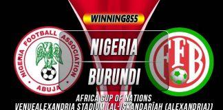Prediksi Nigeria vs Burundi