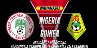 Prediksi Nigeria vs Guinea