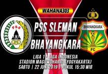 Prediksi PSS Sleman vs Bhayangkara
