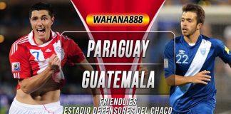 Prediksi Paraguay vs Guatemala