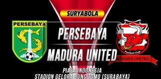 Prediksi Persebaya Surabaya vs Madura United 19 Juni 2019