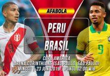 Prediksi Peru vs Brazil