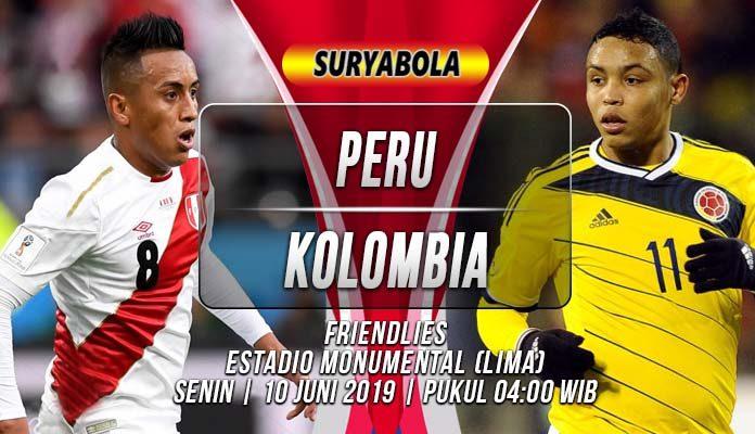 Prediksi Peru vs Kolombia