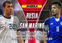 Prediksi Rusia vs San Marino